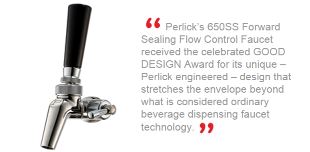 The Perlick Faucet that Wins the Awards