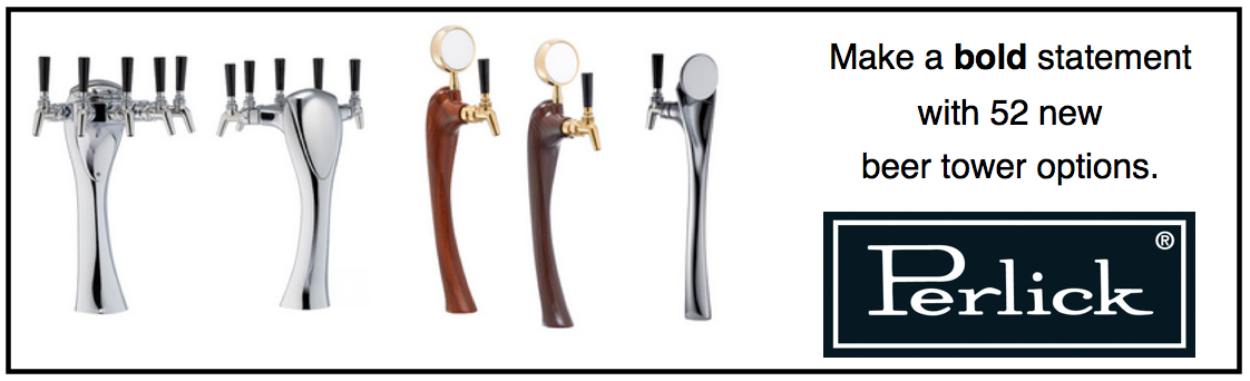 See Perlick's New Line of 2015 Beer Dispensing Towers