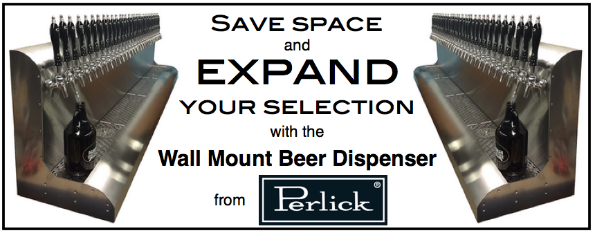 Save Space and Add Selection with a Single Beer Dispensing Unit