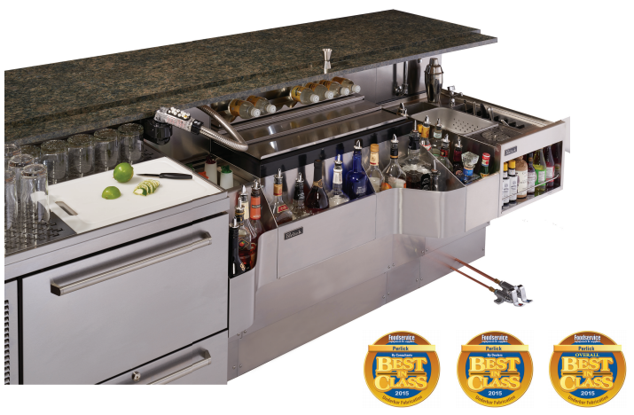 Perlick's Underbar Equipment Wins Best In Class for 12th Straight Year