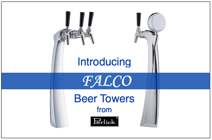 Introducing the Falco Beer Towers from Perlick