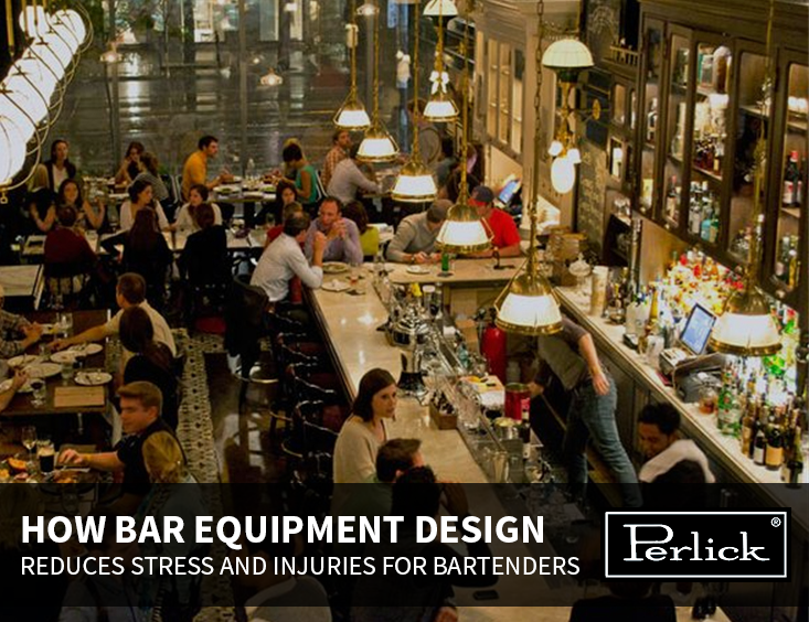 How Bar Equipment Design Reduces Stress and Injuries for Bartenders