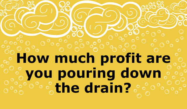 How Much Money Is Your Bar Losing from Foamy Beer?