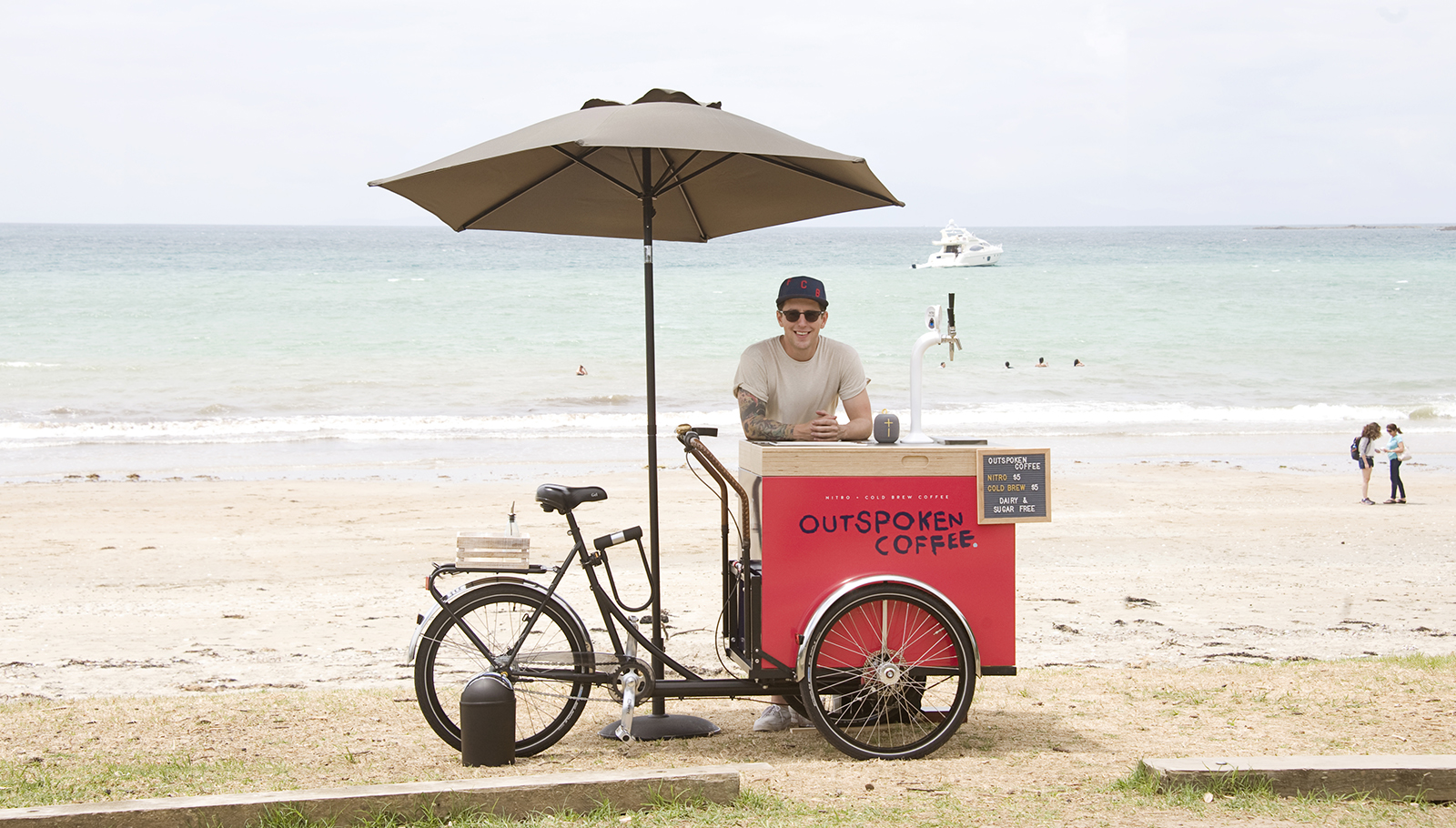 Perlick at the Beach: How Outspoken Coffee is Making Waves with Nitro Cold Brew