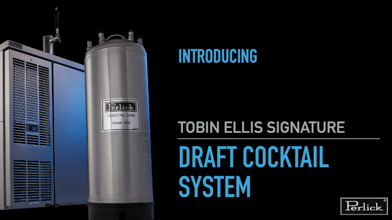 Intro to the Tobin Ellis Signature Draft Cocktail System from Perlick
