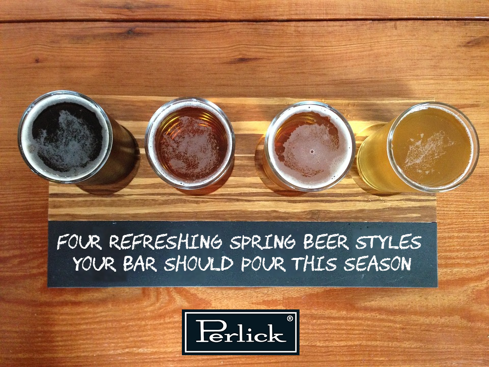 Four Refreshing Spring Beer Styles Your Bar Should Pour This Season