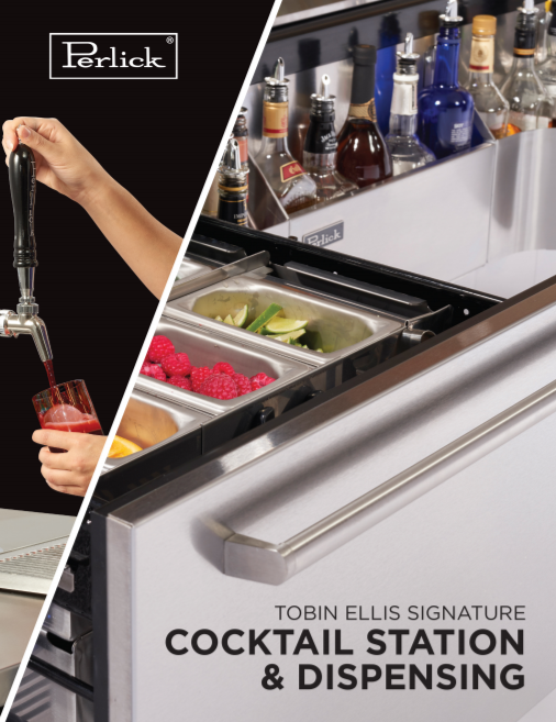 Download the Tobin Ellis Signature Cocktail Station & Dispensing Guide from Perlick