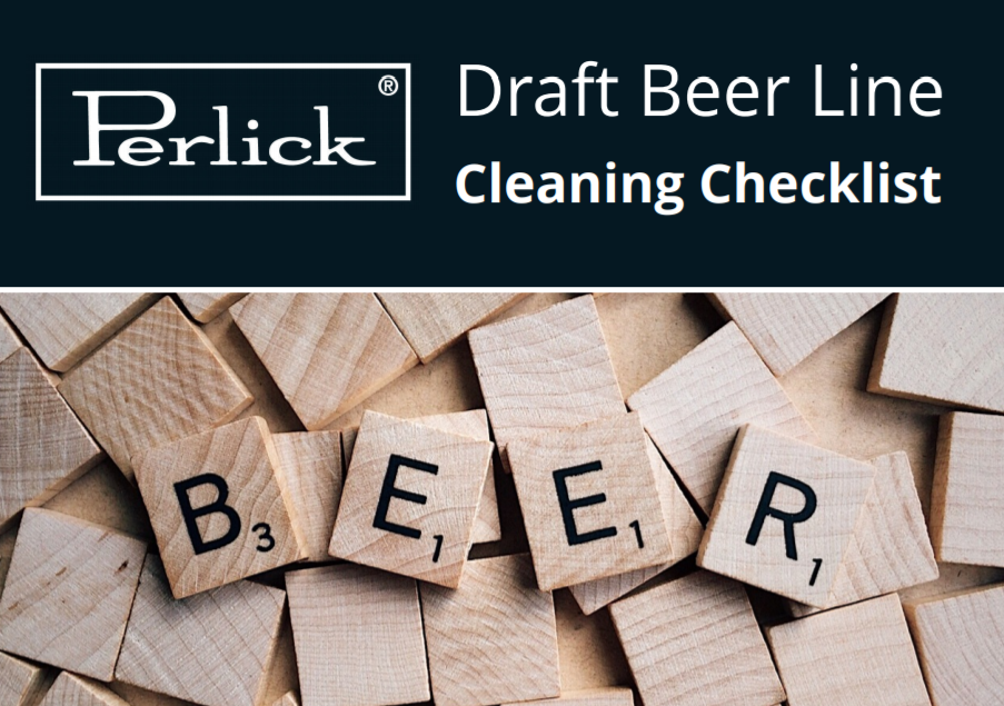 Get the Draft Beer Line Cleaning Checklist